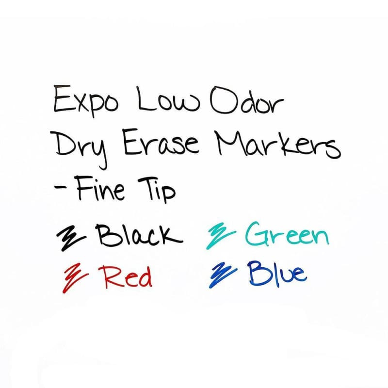 Expo® Low Odor Ink Dry Erase Markers