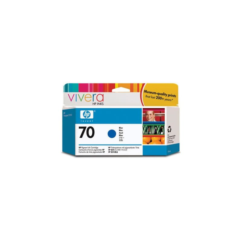 HP 70 C9458A Original Blue Ink Cartridge