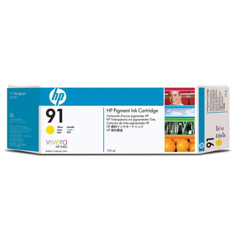 HP 91 C9469A Original Yellow Ink Cartridge