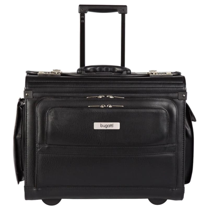 Bugatti® BZCW053 Synthetic Leather Computer Case with Telescopic Handle 377747