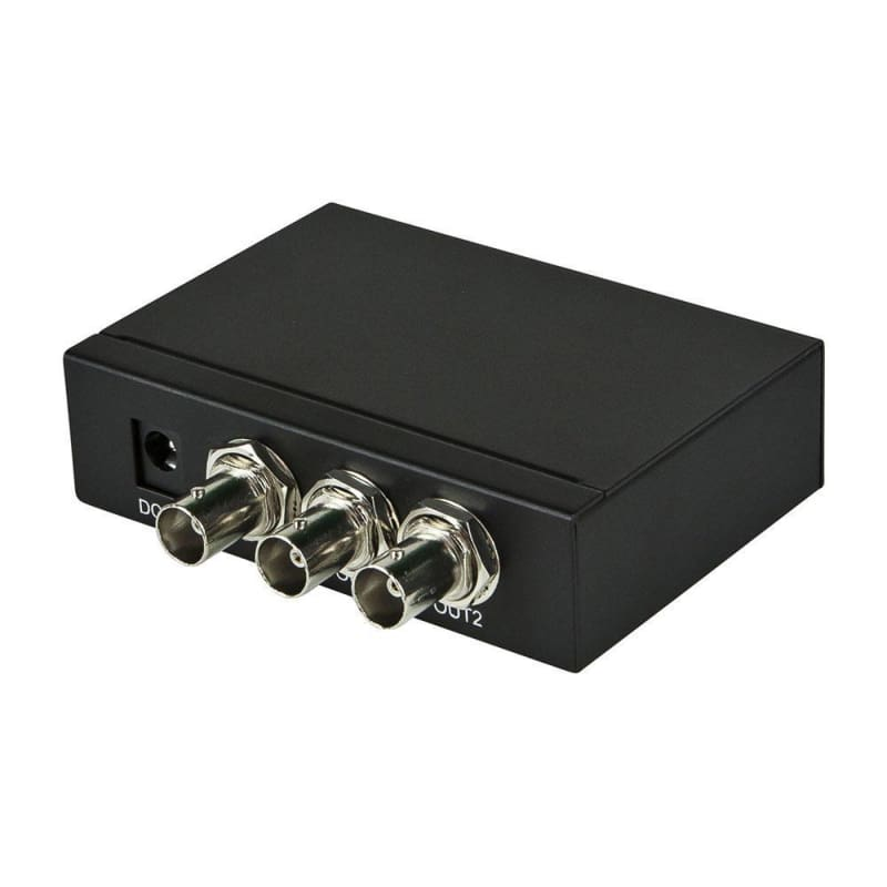 3G SDI 1x2 Splitter with SD-SDI, HD-SDI, and 3G-SDI Support - Monoprice®
