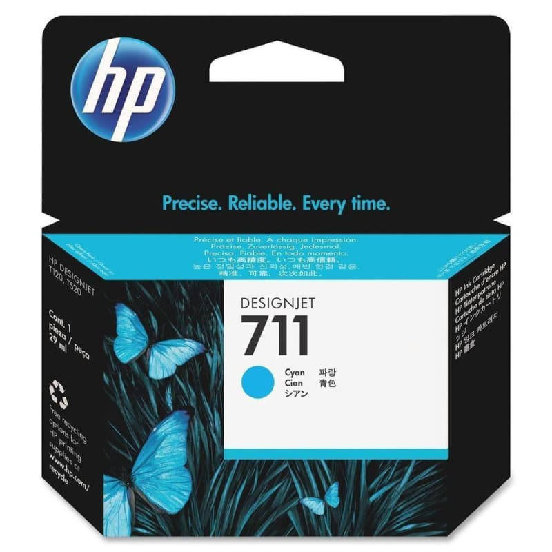 HP 711 CZ130A Original Cyan Ink Cartridge 29ml