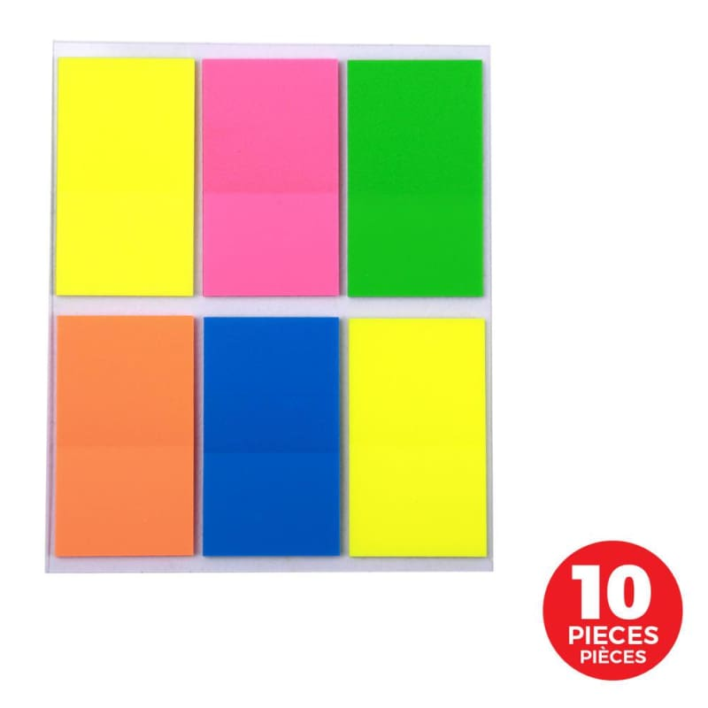 Square Shape Index Tab Flags - Moustache®