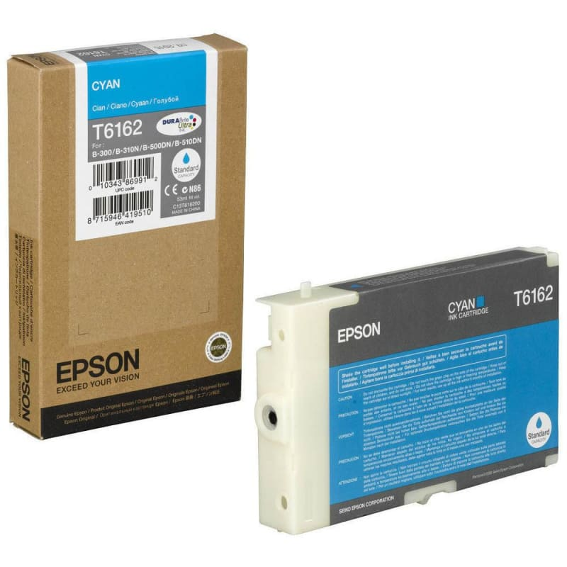 Epson T616200 Original Cyan Ink Cartridge