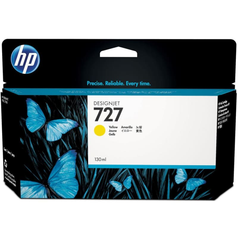 HP 727 B3P21A Original Yellow Ink Cartridge High Yield 130ml
