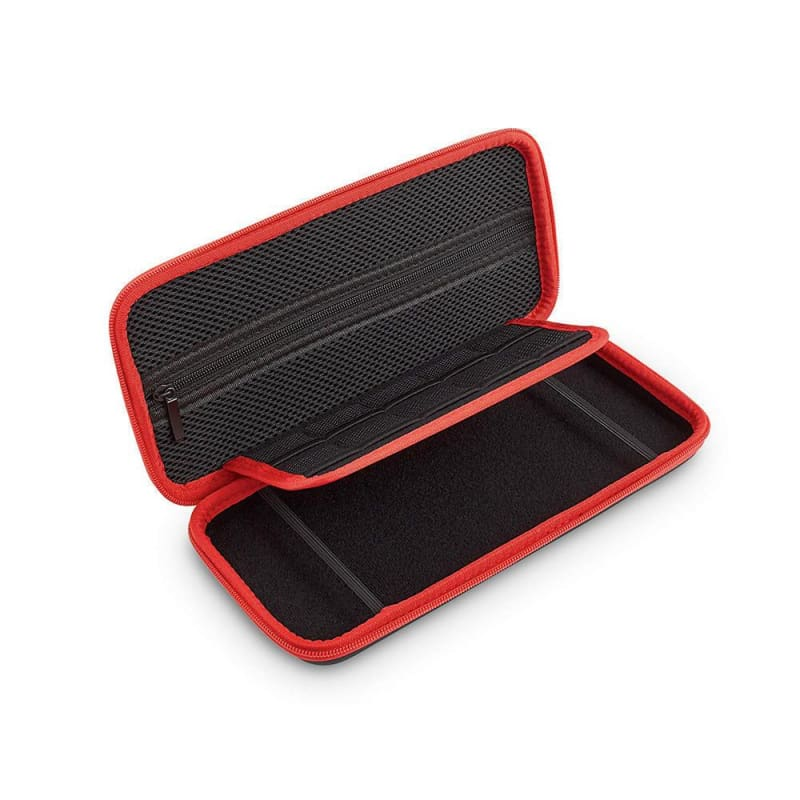 Carrying Case for use with Nintendo Switch, Black/Red - Verbatim