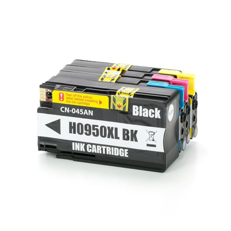 Compatible HP 950XL HP 951XL Ink cartridge Combo High Yield