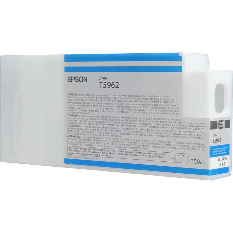 Epson T596200 350ml Original Cyan Ink Cartridge