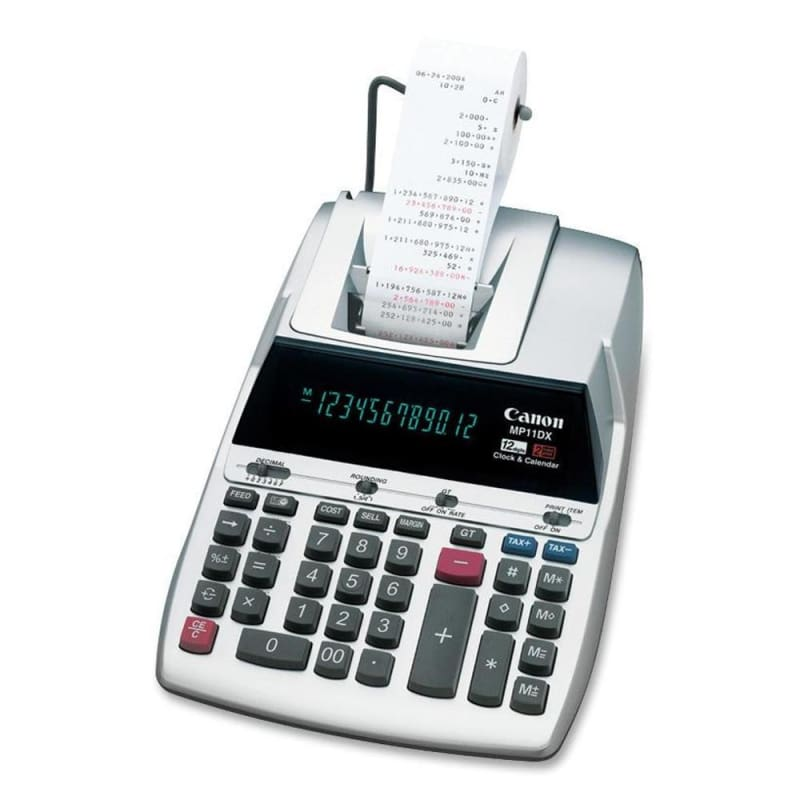 Canon MP11DX 12-Dight Professional High-Speed Desktop Printing Calculator 438895