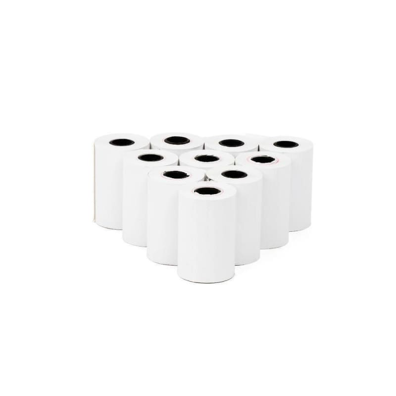 "Thermal Paper Rolls, 2-1/4"" x 60'(1-1/2"") , 10/Pack"