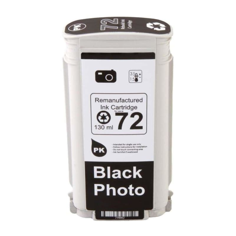 Remanufactured HP 72XL C9370A Photo Black Ink Cartridge High Yield