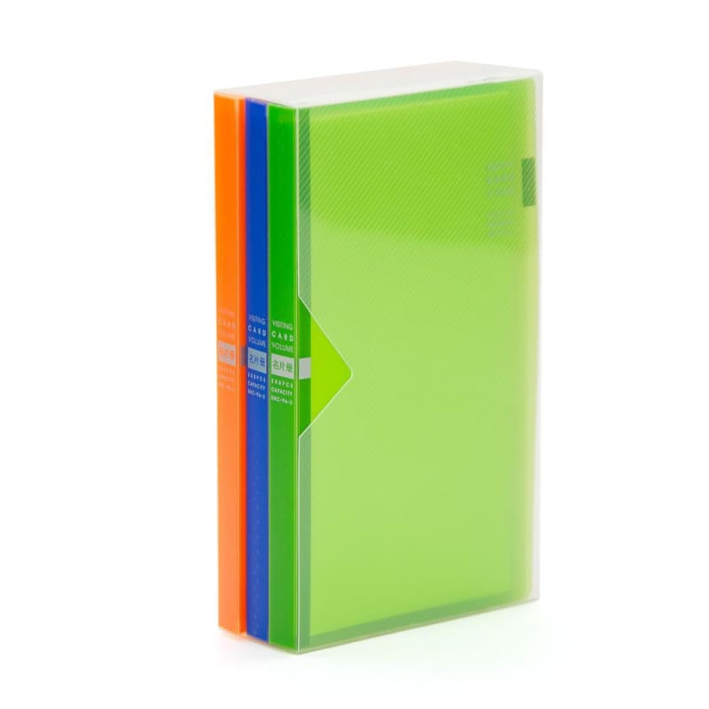 Shuter Business Card Album - 3 Colours/Pack