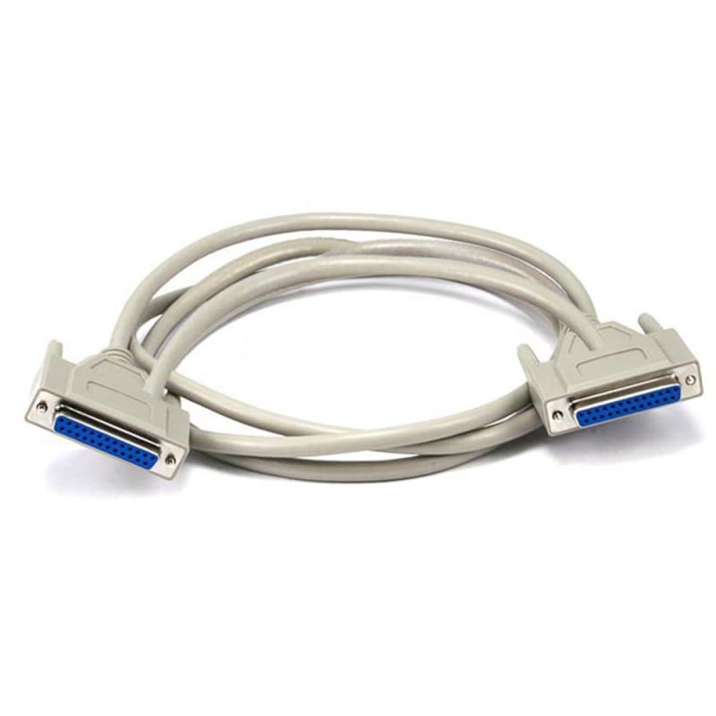 6ft DB25 F/F Molded Cable  - Monoprice