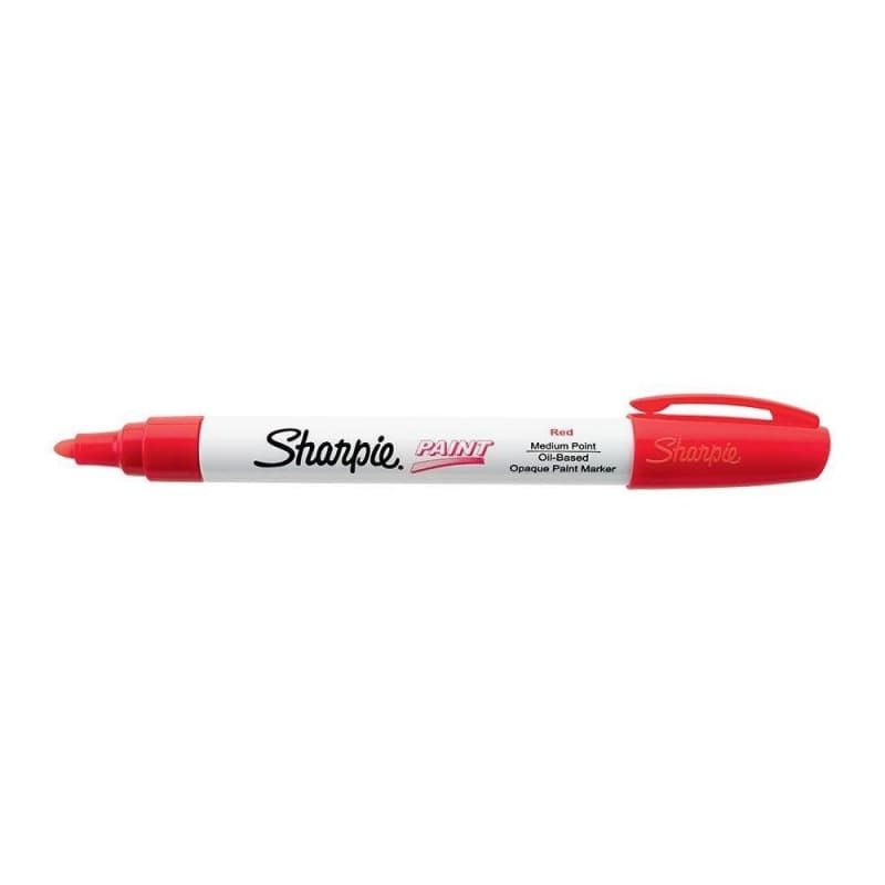Sharpie® Oil-Based Paint Markers, Medium Point, 12/Box