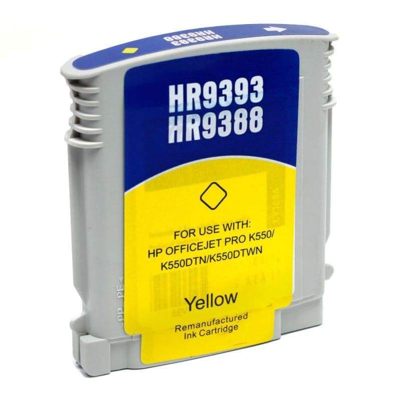 Compatible HP 88XL C9393AN C9388AN Yellow Ink Cartridge High Yield