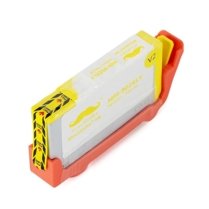 Remanufactured HP 902XL T6M10AN Yellow Ink Cartridge High Yield - Moustache®