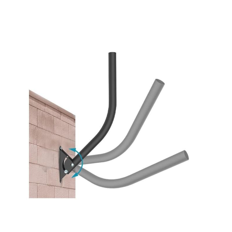 Adjustable Outdoor TV Antenna Mount Pole - PrimeCables®