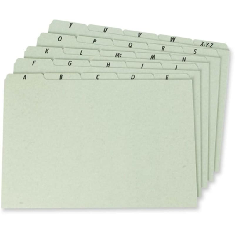 Pendaflex® P625U Legal File Guides, 25/Pack