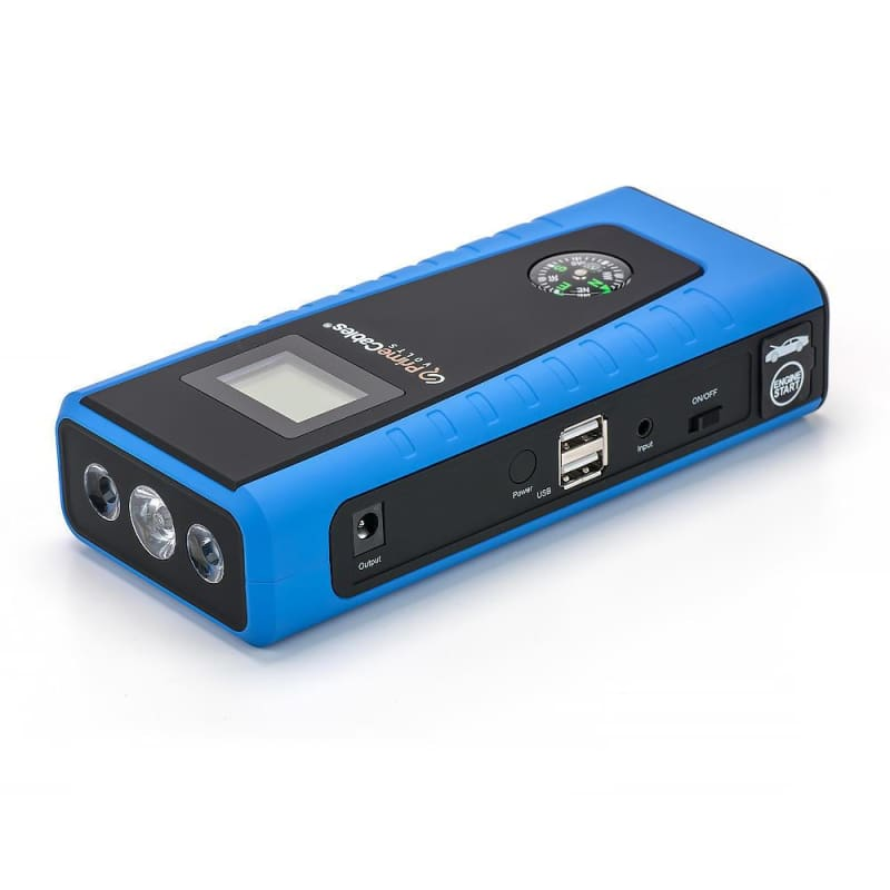 12000mAh Portable Car Jump Starter Battery Booster and  Phone Charger  PrimeCables®