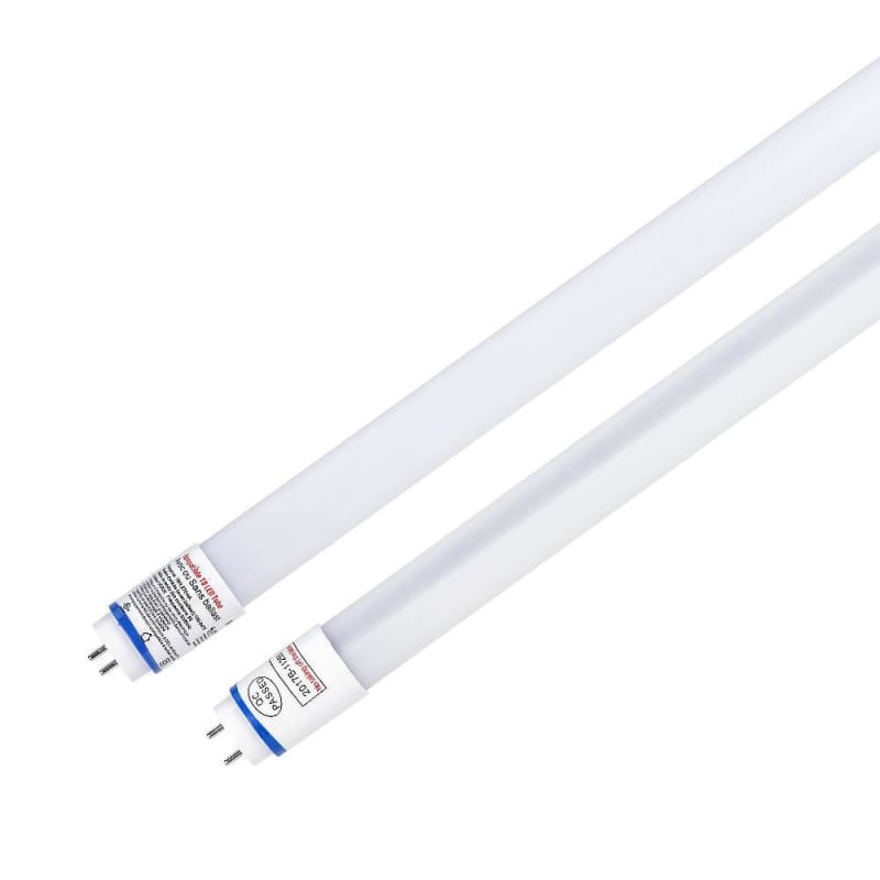 (10Pack)T8 LED Light Tube 4FT 18W  1980 LM Plug& Play Nano Material cUL DLC Ballast Compatible