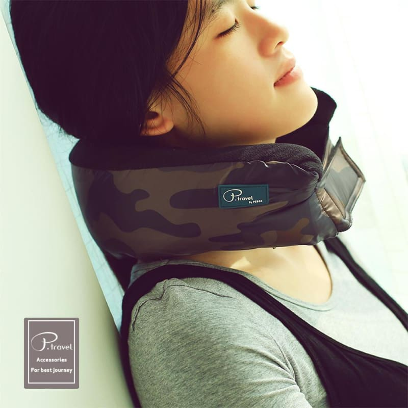 P.Travel 3-In-1 Travel Neck Pillow