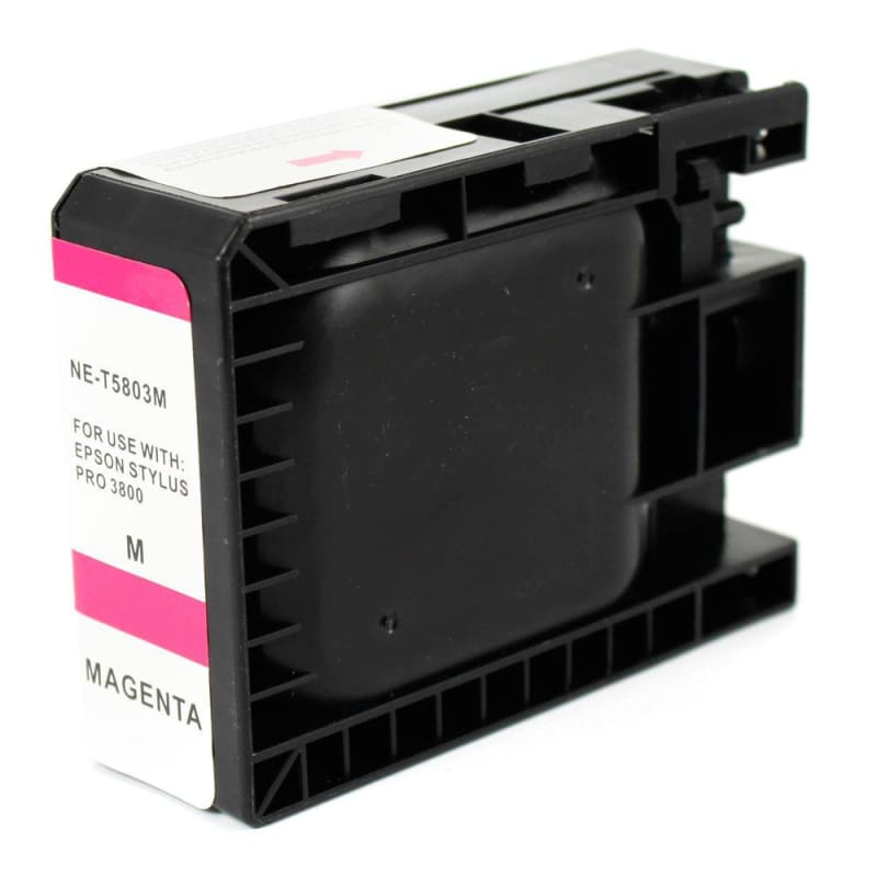 Compatible Epson T580300 Magenta Ink Cartridge Pigment