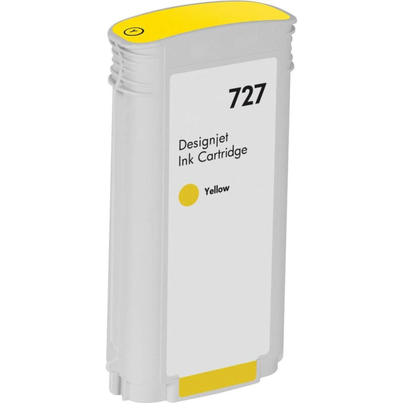 Compatible HP 727 B3P21A Yellow Ink Cartridge High Yield 130ml