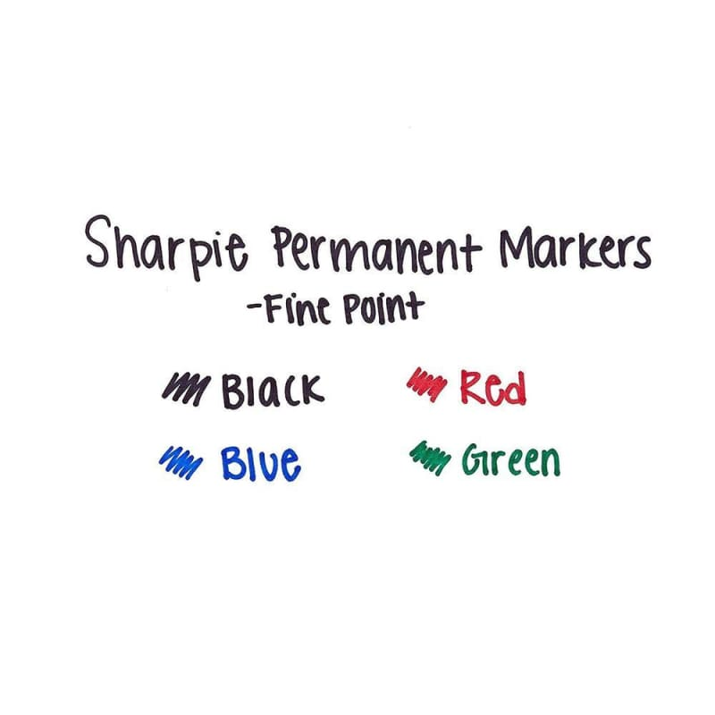 Sharpie® Fine Permanent Markers, Assorted color, 36/Pack (1921559)