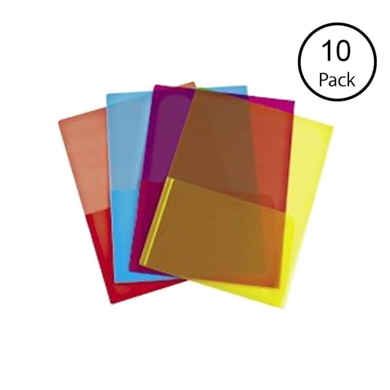Winnable® Translucent Polypropylene Two Pockets Report Cover, 10 covers per pack