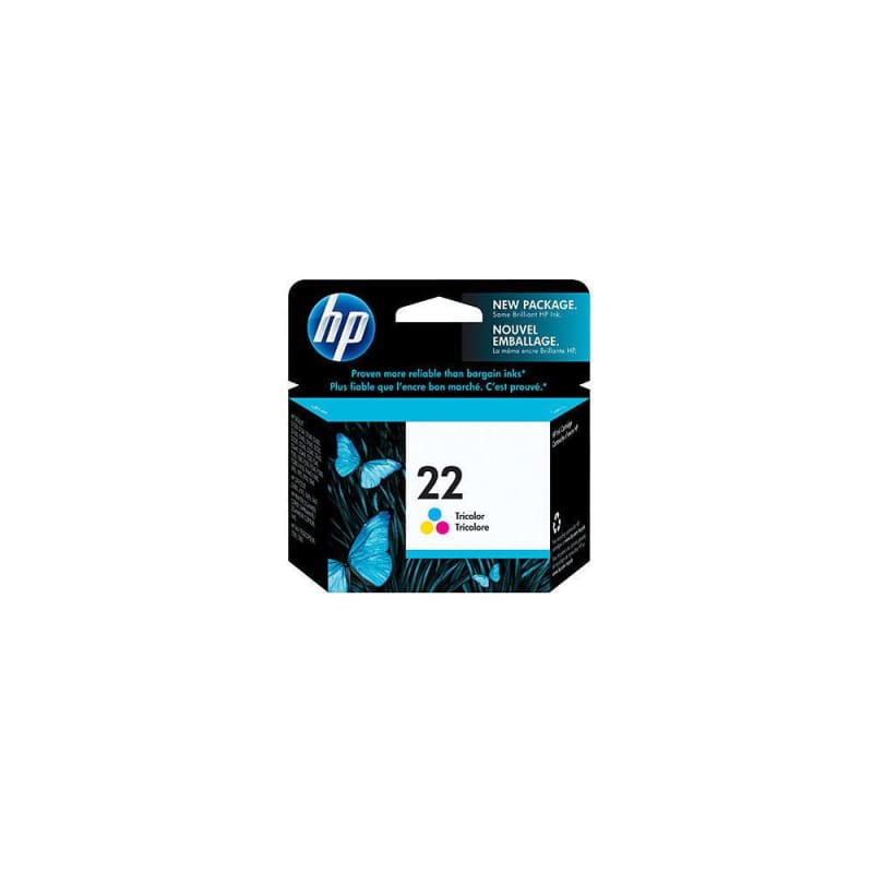 HP 22 C9352AN Original Tri-Color Ink Cartridge