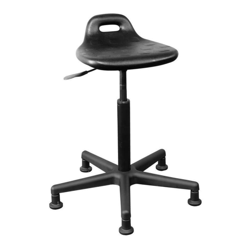 HORIZON® Shoptech™ Industrial Task Stool, Black