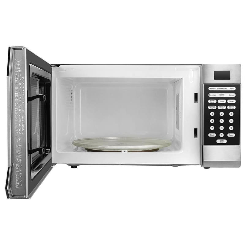 1.1 Cu Ft Microwave Oven with Inverter Technology Stainless Steel 900 W - LIVINGbasics™