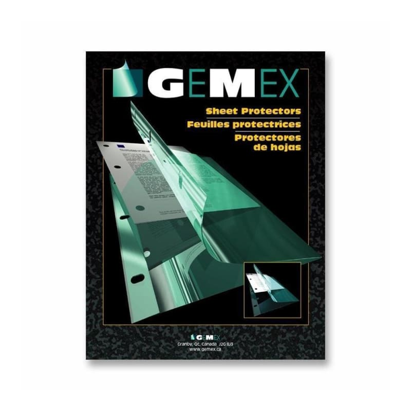 "Gemex® Vinyl Sheet Protector of 0.004"" Thickness"