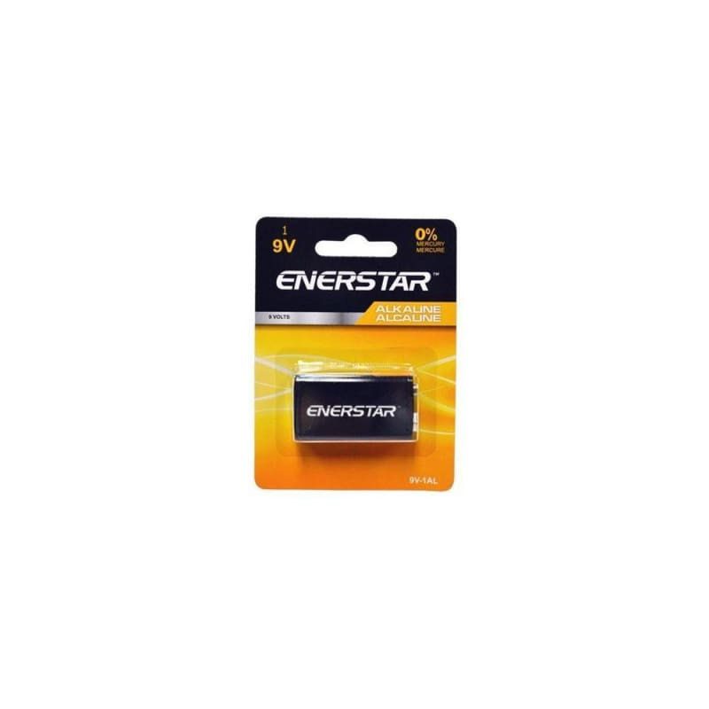 Enerstar 9V Alkaline Battery 1/PACK