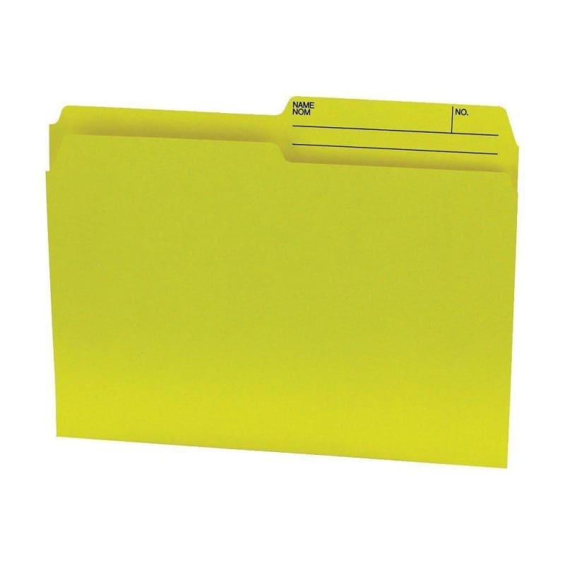Hilroy® Recycled Manila File Folder, 100 folders per box
