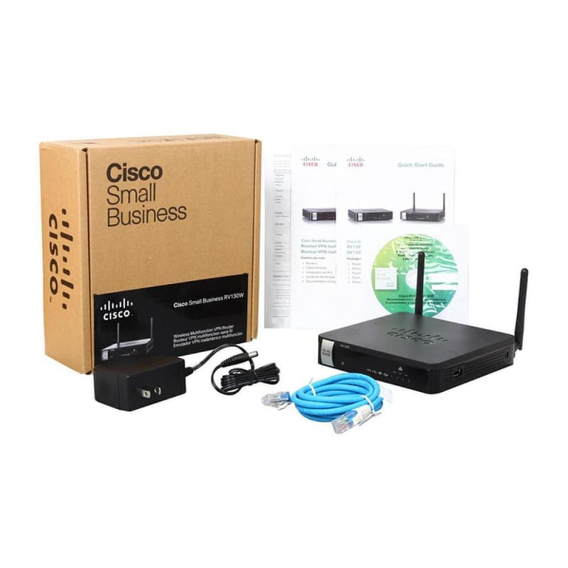 Cisco RV130W IEEE 802.11n Ethernet Wireless Router