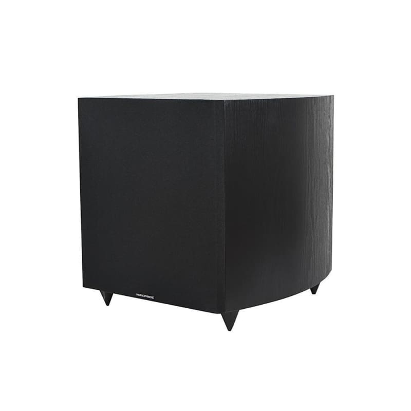 12in 150-Watt Powered Subwoofer, Black - Monoprice®