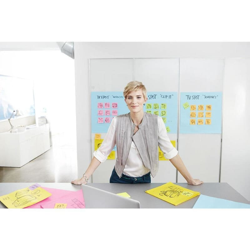 "Post-it® Big Notes - 11 x 11"", Yellow"