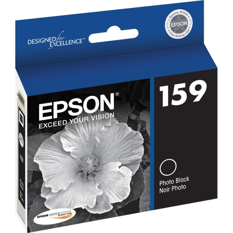 Epson T159120 Original Photo Black Ink Cartridge