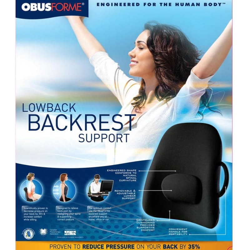 ObusForme® Lowback Backrest Support 303776