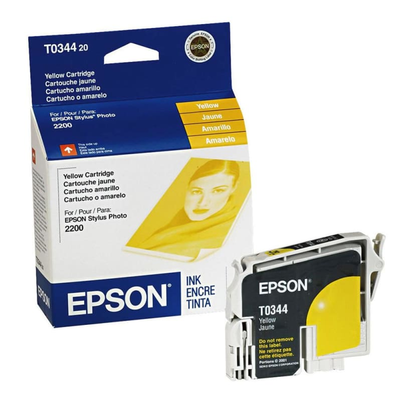 Epson T034420 Original Yellow Ink Cartridge