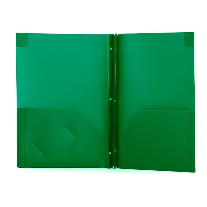 GEO DUO-TANG Poly Report Cover, Assorted Colours, 1 cover per pack