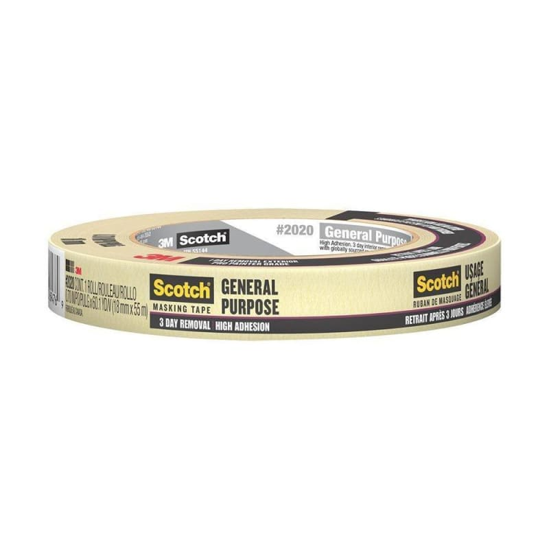 3M™ #2020 General-Purpose Masking Tape , 55M