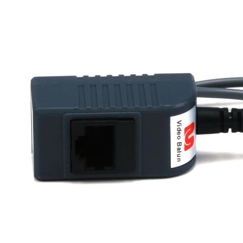 1 Channel Passive CCTV BALUN - Video/Audio/Power over Cat5