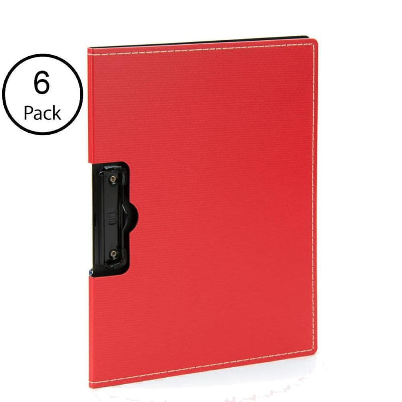 Shuter Elite Creative High Quality Hard Plastic ClipBoard, 6 covers per pack