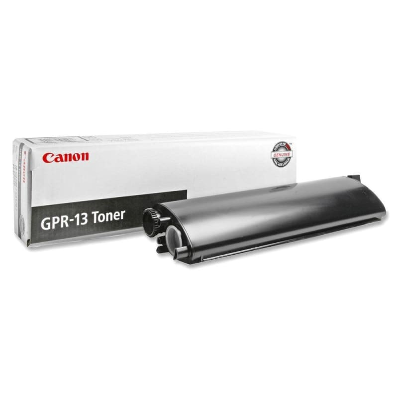 Canon GPR13 8640A003AA Original Black Toner Cartridge