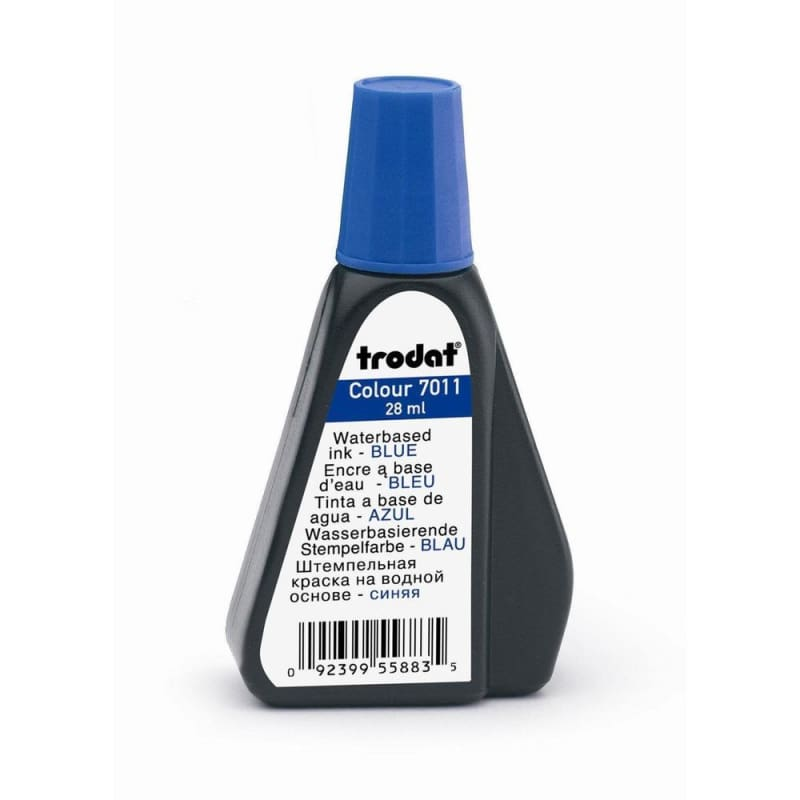 Trodat® 7011 Premium Ink for Stamp Pad, 28ml/bottle