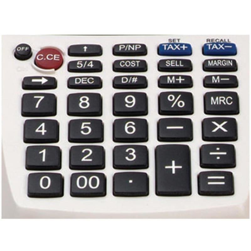 Victor® 1205-4 12-Digit Portable Palm/Desktop Commercial Printing Calculator