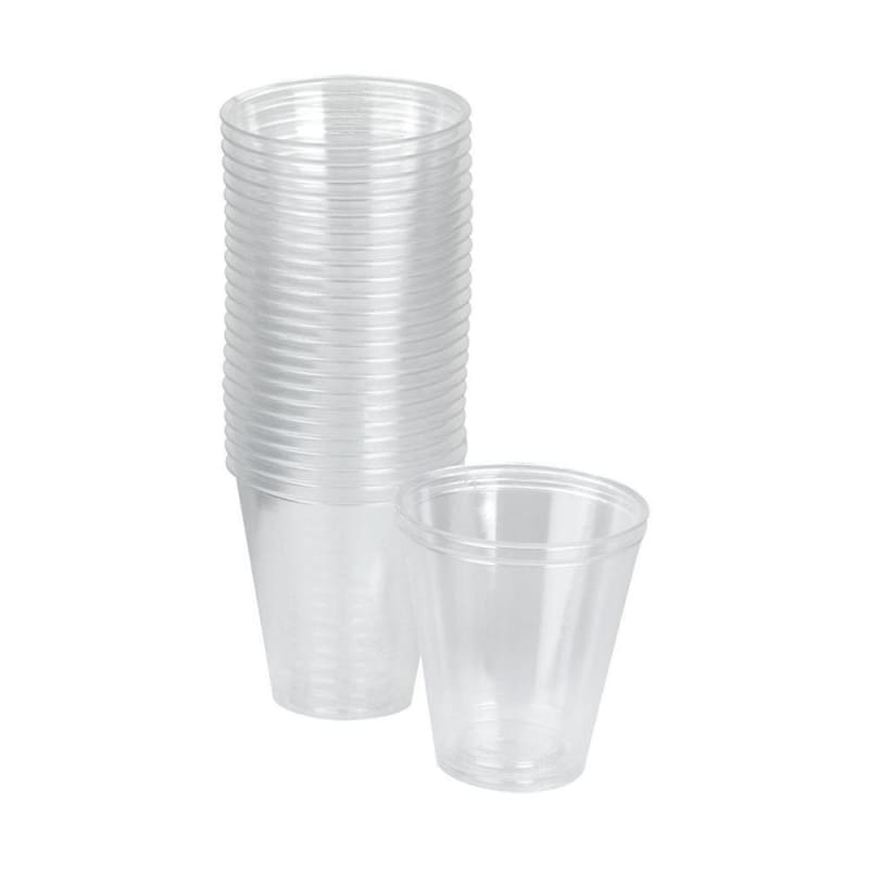 Polar™ Disposable Cups, Smooth and Clear / Diamond and Translucent Surface