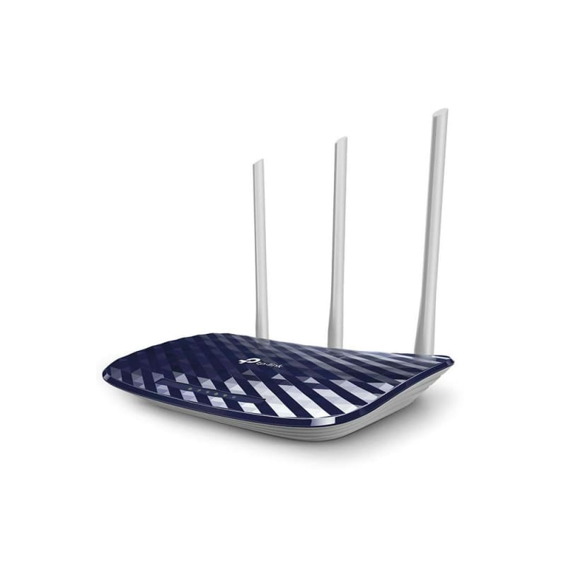 TP-Link AC750 Wireless Dual Band Router 2.4GHz 300Mbps + 5GHz 433Mbps 3 External Antennas Archer C20